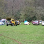 The camp in Durbin, WV