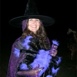 Annette made a lovely witch