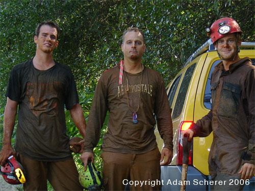Aaron King, Bill Walker, and Adam Scherer