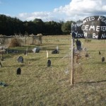 The haunted graveyard