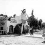 The old entrance to Ocala Caverns