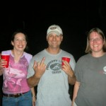 Marsha, Bill, and Melissa
