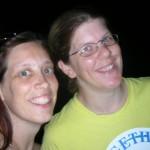Cara and Becky