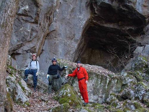 Fricks Cave Entrance