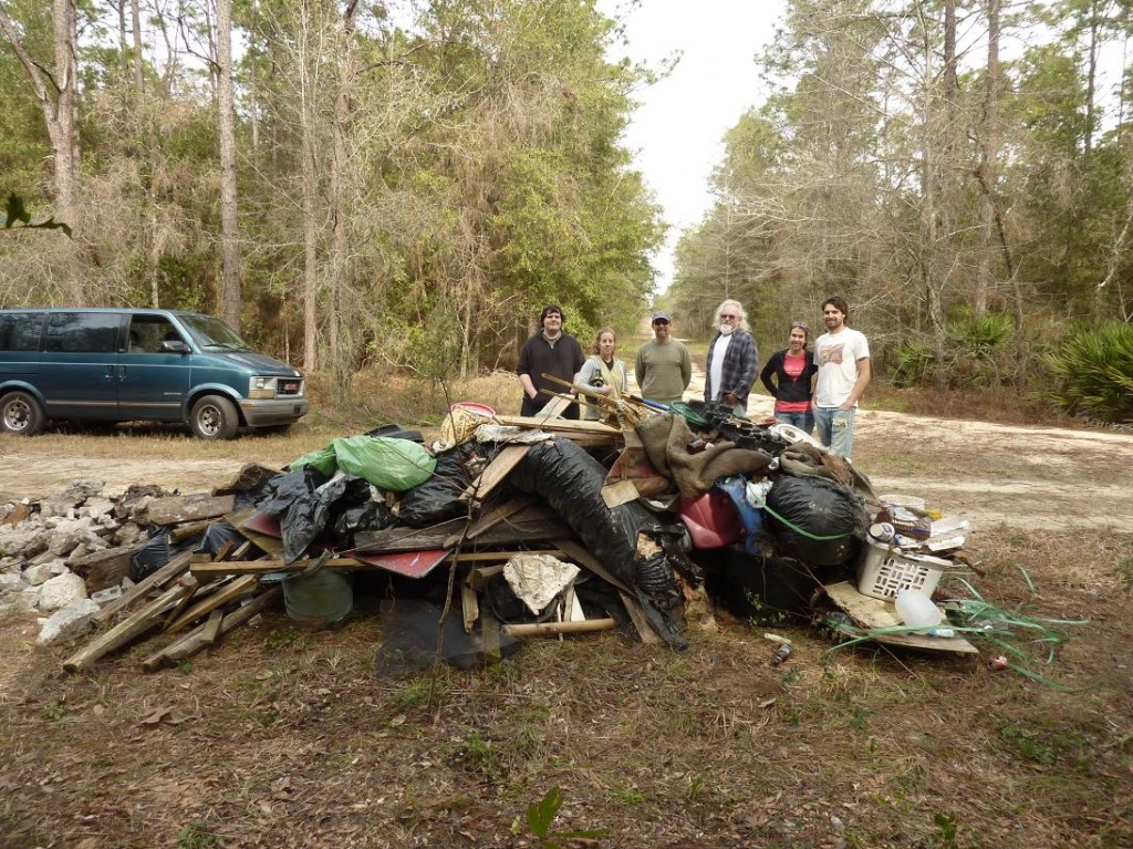 Jennings Cave Roads Cleanup 2014-01-26 1.1