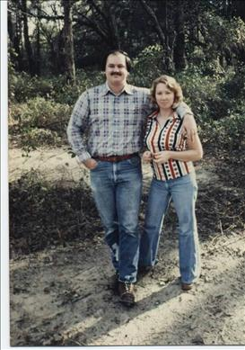 Bill and Shirlee in the 1970's